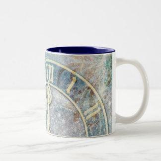 Tempus Fugit Two-Tone Coffee Mug