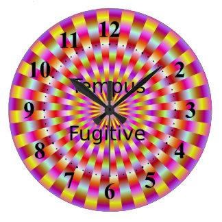 Tempus Fugitive  Candy Rings Clock