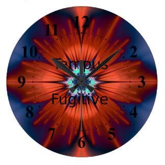 Tempus Fugitive Orange Flower Clock