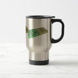 Ten as Te Tellurium and N Nitrogen 15 Oz Stainless Steel Travel Mug