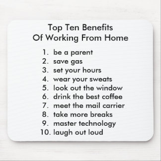 Ten Benefits Mousepad