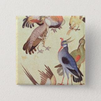 Ten Birds Button