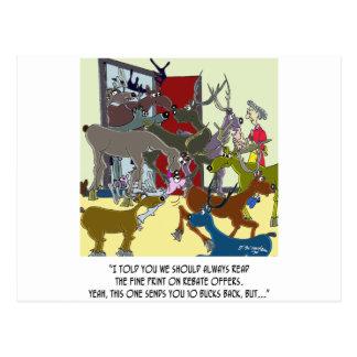 Ten Buck Rebate Post Card
