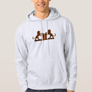 Ten Commandments and Lions Hoodie