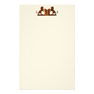 Ten Commandments and Lions Stationery