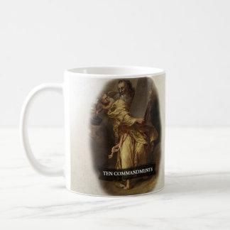 Ten Commandments Historical Coffee Mug