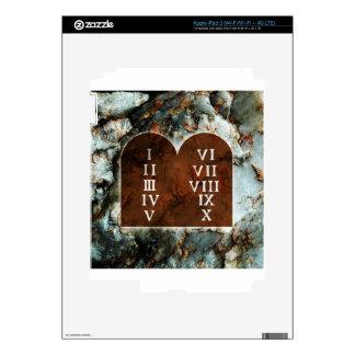 Ten Commandments iPad 3 Decals
