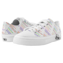 Ten Commandments Judaeo-Christian Printed Shoes