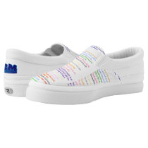 Ten Commandments Judaeo-Christian Slip Ons