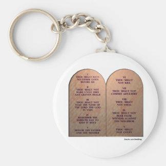 Ten Commandments Keychains