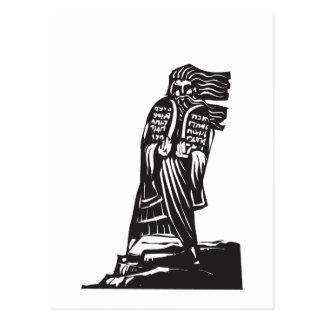 Ten Commandments Postcard
