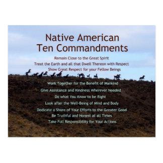 Ten Commandments Postcards