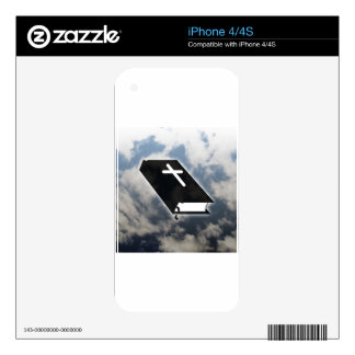 Ten Commandments Skin For iPhone 4S