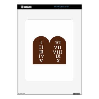 Ten Commandments Skin For The iPad
