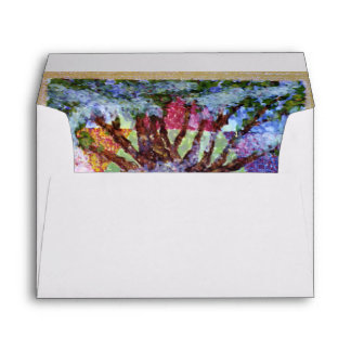 Ten Commandments Tree of Life - Judy Rey Wasserman Envelope