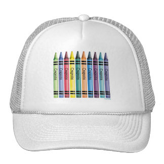 Ten Crayons Trucker Hat