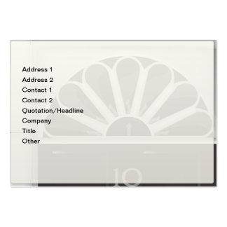 Ten Downing Street Business Card Template