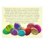 Ten Easter Eggs Rainbow Custom Announcement