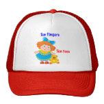 Ten fingers, ten toes mesh hats