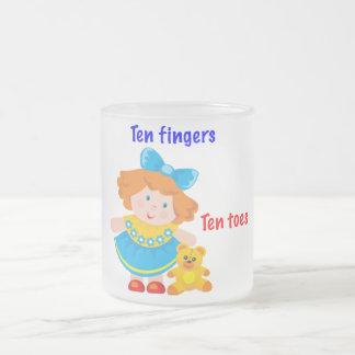 Ten fingers, ten toes mugs