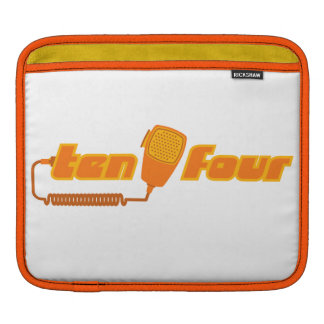 Ten-Four Retro CB Radio iPad Sleeve (light)