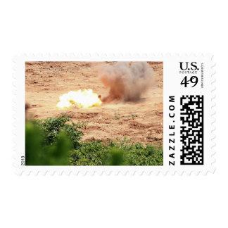 Ten half-pound blocks of TNT Postage Stamps