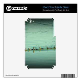 Ten in a Row Decals For iPod Touch 4G