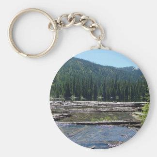 Ten Lakes Scenic Area Keychain