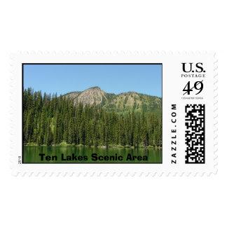 Ten Lakes Scenic Area Postage