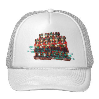 Ten Little Indian Boys Trucker Hat
