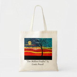 """Ten Million Fireflies"" by Linda Powell Tote Bag"