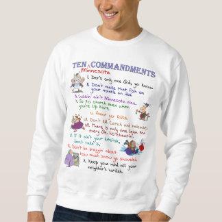 Ten Minnesota Commandments Basic Sweatshirt