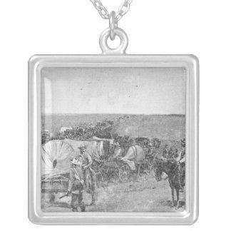 Ten Minutes Before the Great Rush Silver Plated Necklace