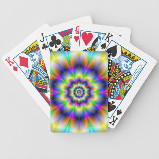 Ten Neon Petals Playing Cards Bicycle Playing Cards