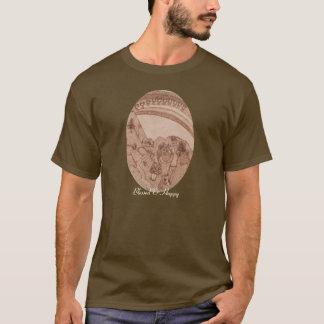 Ten Of Cups Tarot New Age Mystic Rustic Prim T-Shirt