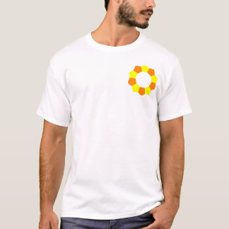 Ten Pentagons on Pocket - OY T-Shirt