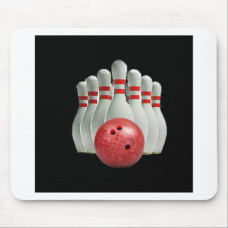 """""""Ten pin bowling 2"""" design gifts and products Mouse Pad"""