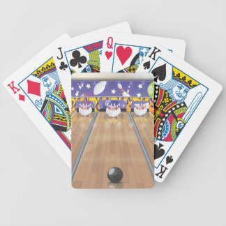 Ten Pin Bowling Alley Bicycle Playing Cards