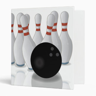 Ten-pin bowling binder