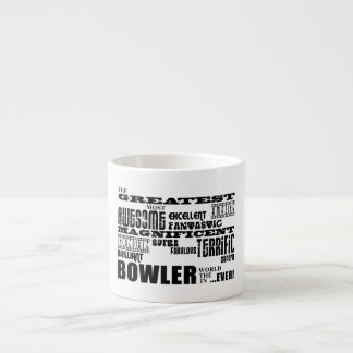 Ten Pin Bowling Bowlers Greatest Bowler World Ever Espresso Cup