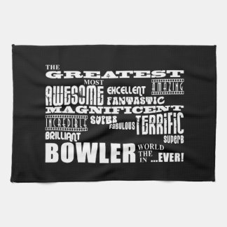 Ten Pin Bowling Bowlers Greatest Bowler World Ever Hand Towels