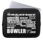 Ten Pin Bowling Bowlers Greatest Bowler World Ever Laptop Computer Sleeves