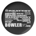 Ten Pin Bowling Bowlers Greatest Bowler World Ever Plate