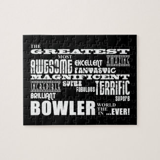 Ten Pin Bowling Bowlers Greatest Bowler World Ever Jigsaw Puzzles
