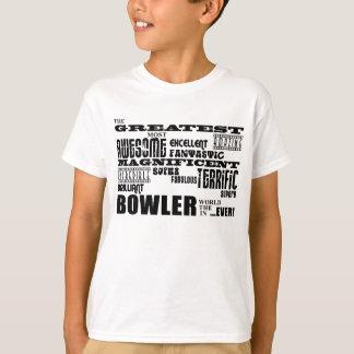 Ten Pin Bowling Bowlers Greatest Bowler World Ever T-Shirt
