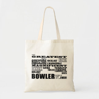 Ten Pin Bowling Bowlers Greatest Bowler World Ever Tote Bag