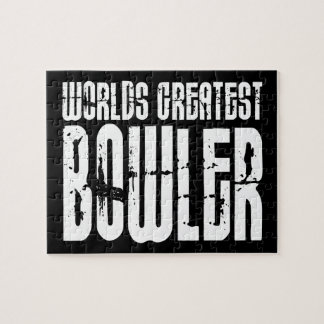 Ten Pin Bowling & Bowlers : Worlds Greatest Bowler Jigsaw Puzzle