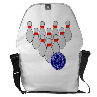 Ten Pin Bowling Courier Bag