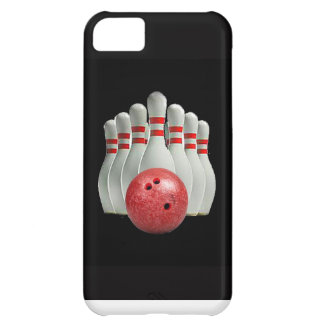 """Ten pin bowling"" design Apple product cases"