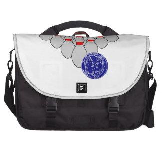 Ten Pin Bowling Laptop Bag